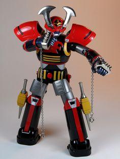 Bandai – Sould of Chogokin – GX-30 – Battle Fever Robo (バトルフィーバーロボ) – Knuckle Fight!