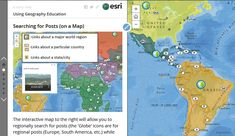 Geography Education - Curated information from a professor at Rhode Island College