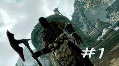 Lets Play Skyrim Part 1 - The Khajiit