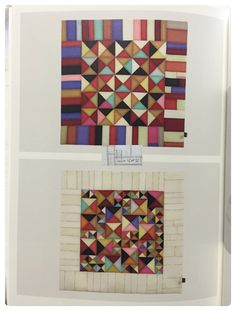 유물재현과 재해석 :: 세모 조각보 사실 특별한 디자인이 있는 건 아닌 유물보 입니다. 그런데 그냥 만들어... Quilted Wall Hangings, Mini Quilts, Fabric Art, Fabric Scraps, Textile Art, Quilt Blocks, Fiber Art, Needlework, Tapestry