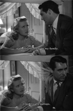 arsenic and old lace essay The film, arsenic and old lace starring cary grant, debuted in 1944 after the play concluded its broadway run still image from the movie arsenic and old lace inspired by the amy archer-gilligan case and produced by frank capra in 1944.