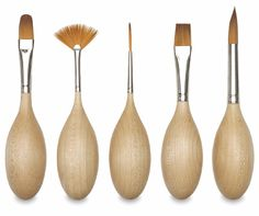 Adaptive Art Supplies such as Egg Shaped Paintbrushes