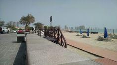 Praia particular do Katara.