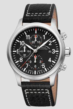 Terrasport I Chronograph - Terrasport - Sporty Instrument Watches - Functional Wristwatches | Mühle-Glashütte GmbH nautische Instrumente und Feinmechanik