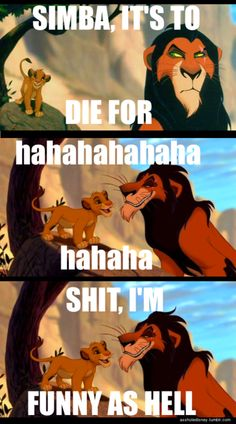"""Oh my God. When i was little I thought """"to die for"""" meant you'd actually die because of this movie."""