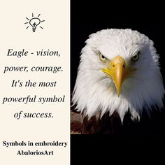 Symbols in embroidery  #Eagle 🦅 - vision, power, courage. It's the most powerful symbol of #success ---------------------------------  #abaloriosart #craft #crafts #crafty #artesania #bordado #abalorios #embroidery #beads #beadwork #handmade #picture #pictureoftheday #cute #beautiful #love #art #style #color  #crossstitch #symbols #tips #advice #ideas #justsaying #thoughts #power #bird