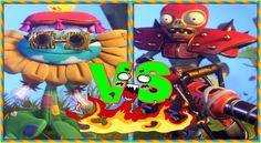 Plants vs Zombies Garden Warfare 2:All Stars Pvzgw2 To Fight All Flower ...