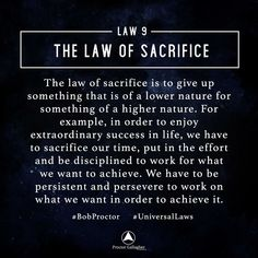 Most people do not understand this law. Sacrifice is giving up of something of a lower nature, to receive something of a higher nature. Manifestation Law Of Attraction, Law Of Attraction Affirmations, Secret Law Of Attraction, Law Of Attraction Quotes, Manifestation Journal, Spiritual Quotes, Wisdom Quotes, Spiritual Enlightenment, Spiritual Awakening