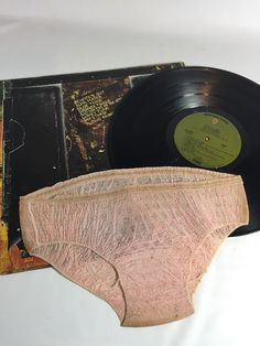 "Alice Cooper ""School's Out"" 1972 1st Press Vinyl LP +Orginial Panties BS 2623 VG #RockPsychedelicRockRocknRoll"