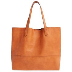 Sole Society Oversize Faux Leather Shopper ( 65) ❤ liked on Polyvore  featuring bags 8238aabf1b824