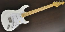 DEAN ZELINSKY / TAGLIARE LIMITED Z-Glide Vintage White Guitar Free Shipping! δ