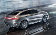 mercedes benz coupe suv concept | Erste Bilder: Concept Coupé SUV von ...
