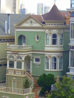Victorian house in San Francisco, Steiner Street