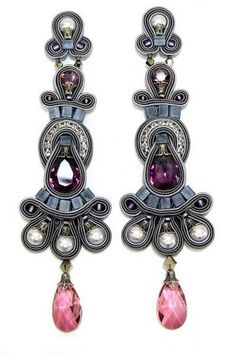 Dori Csengeri Raphsody Large Clip Earrings