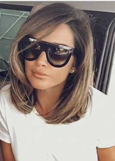 Spectacular long bob on brown hair - Spectacular long bob on brown hair - Cabello Rubio Brown Blonde Hair, Light Brown Hair, Medium Hair Styles, Natural Hair Styles, Short Hair Styles, Trending Hairstyles, Bob Hairstyles, Cabelo Ombre Hair, Lob Styling