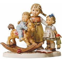 Hummel Learning to Share Porcelain Figurine in Home & Garden | eBay