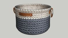 Large preview of 3D Model of regreen cotton basket