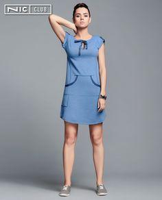 42a2dcd256a7cb6 Летнее трикотажное платье от Nic Club из коллекции Velada («Велада») —  полуприлегающего