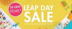 Harvest Moon Papiere: Blitsy Blog Leap! #BlitsySale #LeapDay @blitsy #happycrafting #BlitsyCreativeTeam