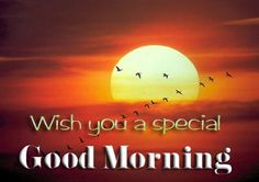 Wish You To Special Good Morning