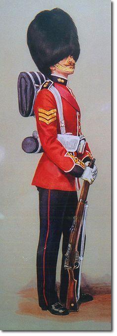 British Empire: British Infantry: The Grenadier Guards, Sergeant 1914