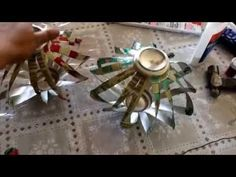 ▶ DIY: How to make a spinning wind chimes - YouTube
