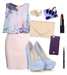 """""""Untitled #467"""" by cupcakes077 ❤ liked on Polyvore featuring Boohoo, Accessorize, Tory Burch and NARS Cosmetics"""