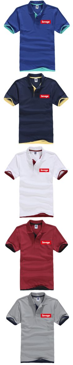 ONE A CAKE Savages Men Women Hip Hop Shirt Summer Street Fear Of God Red Letter Printed Cotton Shirt Tops Brand Clothing
