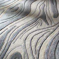 [ inhabit ]: madera wool rug