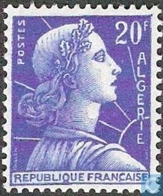 Algeria - Marianne (type Muller) 1957