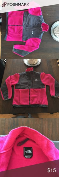 North face women's fleece North Face women's small fleece... this fleece has been worn a lot and still has life in it... selling it because it's too small. North Face Jackets & Coats