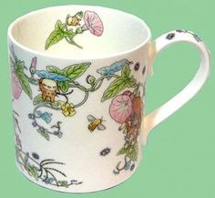 Mug Cup - Bone China - Hirugao - Noritake - Totoro - Ghibli (new)