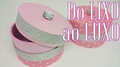 DIY ♥ Do LIXO ao LUXO ♥ Reciclando e Decorando ✂ Rolo de durex