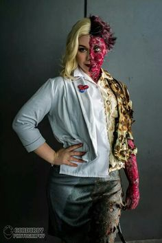 Awesome female Two Face #cosplay #Rule63