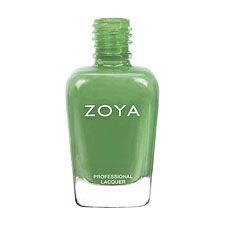 TO BUY: Zoya Nail Polish ZP667  Josie  Green Nail Polish Cream Nail Polish  (Replaces Essie Pretty Edgy)