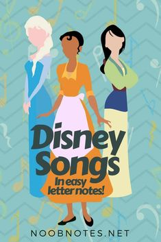 A collection of over 30 Disney songs, which is constantly growing! You can find tunes…