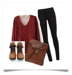 """""""Sin título #39"""" by araceli-directioner ❤ liked on Polyvore featuring Burberry, Campomaggi, women's clothing, women, female, woman, misses and juniors"""