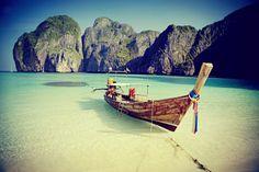 Maya Bay in Thailand. #Thailand #bucherreisen #lastminute #urlaub #reise