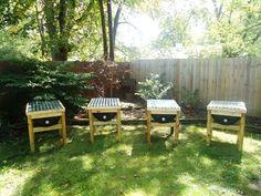top bar barrel beehive