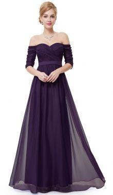 Ever-Pretty plesové šaty Svůdná kouzelnice, fialové