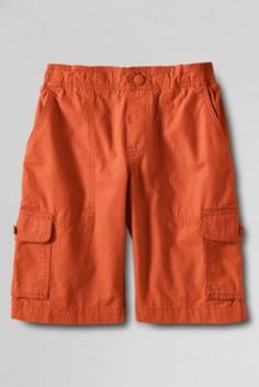 Boys' Ripstop Pull-on Cargo Shorts #summerspirit