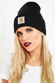 Carhartt Watch Beanie Hat in Black