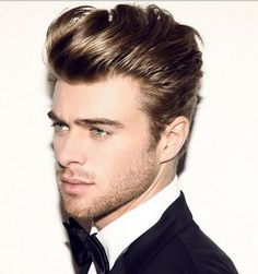The modern version of yet classic James Dean's mens hairstyles 2017