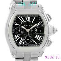Replica Cartier Roadster Chronograph Watch W62020X6 for men