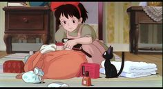 kikis delivery service bedroom - Google Search