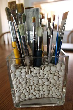 craft room organization & craft room ideas - craft room organization - craft room storage - craft room design - craft room - craft room office - craft room ideas on a budget - craft room decor Art Storage, Craft Room Storage, Storage Ideas, Makeup Storage, Tool Storage, Art Supplies Storage, Bathroom Storage, Storage Solutions, Organize Art Supplies