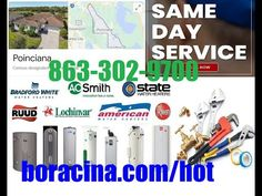 Emergency Hot Water Heater Repair In Poinciana, FL Same Day Installation... Osceola County, Mobile Mechanic, Lakeland Florida, Winter Haven, Car Repair Service, Real Estate Services, The Help, Semi Trailer, Day