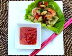 Asian Shrimp Lettuce