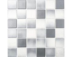 Keramisch mozaïek CD 212 grijs mix 30,5 x 30,5 cm Updated Kitchen, Tile Floor, Building A House, Texture, Bauhaus, Bath Mat, Flooring, Inspiration, Design