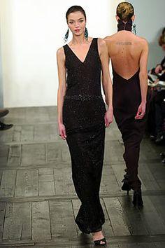 Ralph Lauren Fall 2004 Ready-to-Wear Fashion Show - Ralph Lauren, Mariacarla Boscono
